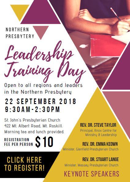 leadership training day - west